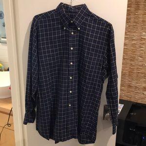 Jos. A. Bank Button Down Long Sleeve Dress Shirt